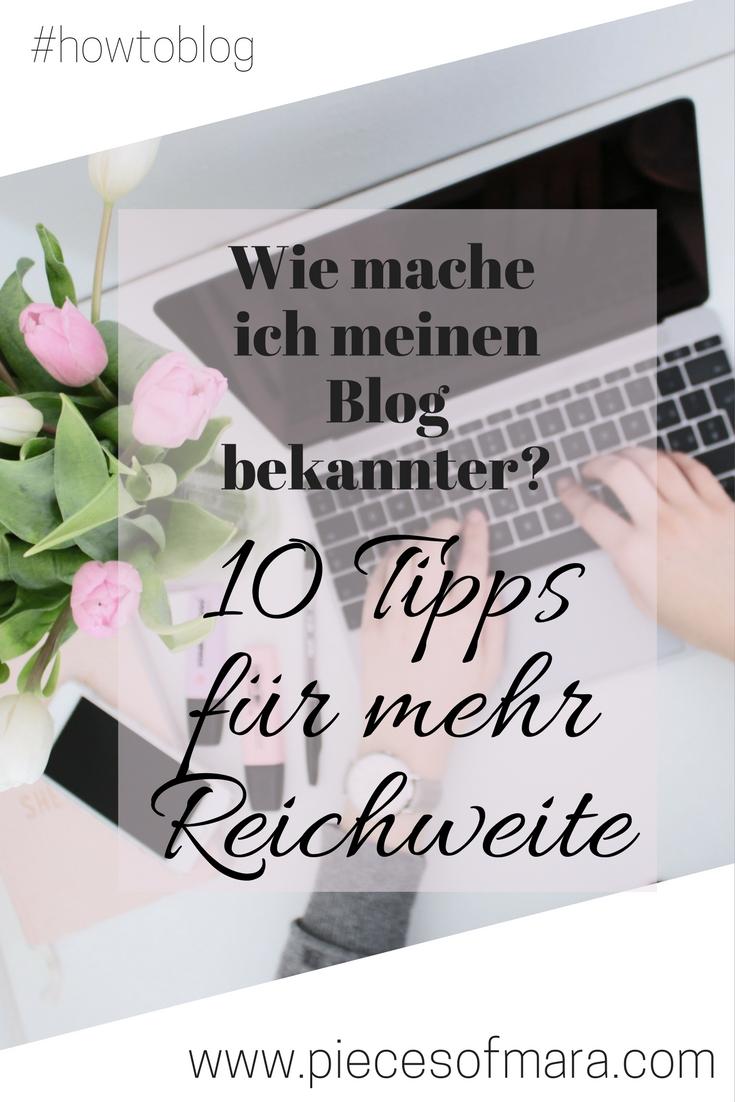 wie mache ich meinen blog bekannter 10 tipps f r mehr reichweite howtoblog. Black Bedroom Furniture Sets. Home Design Ideas
