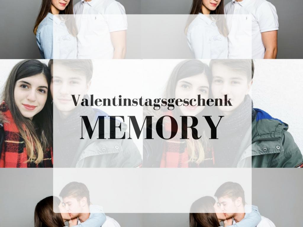 Geschenkidee für den Valentinstag: Memory