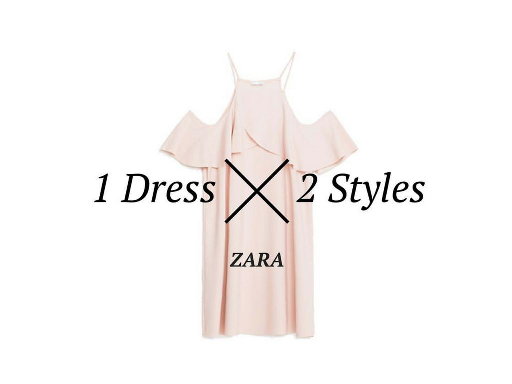 1 Dress – 2 Styles / ZARA