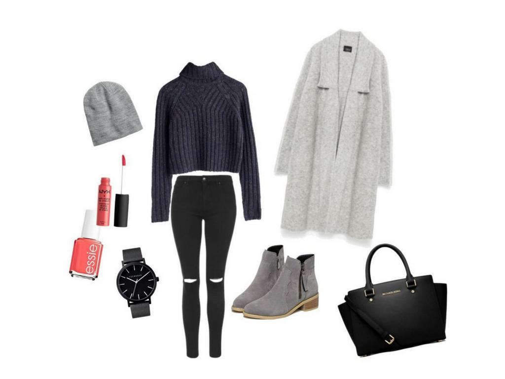 Fall Outfit #Shadesofgrey