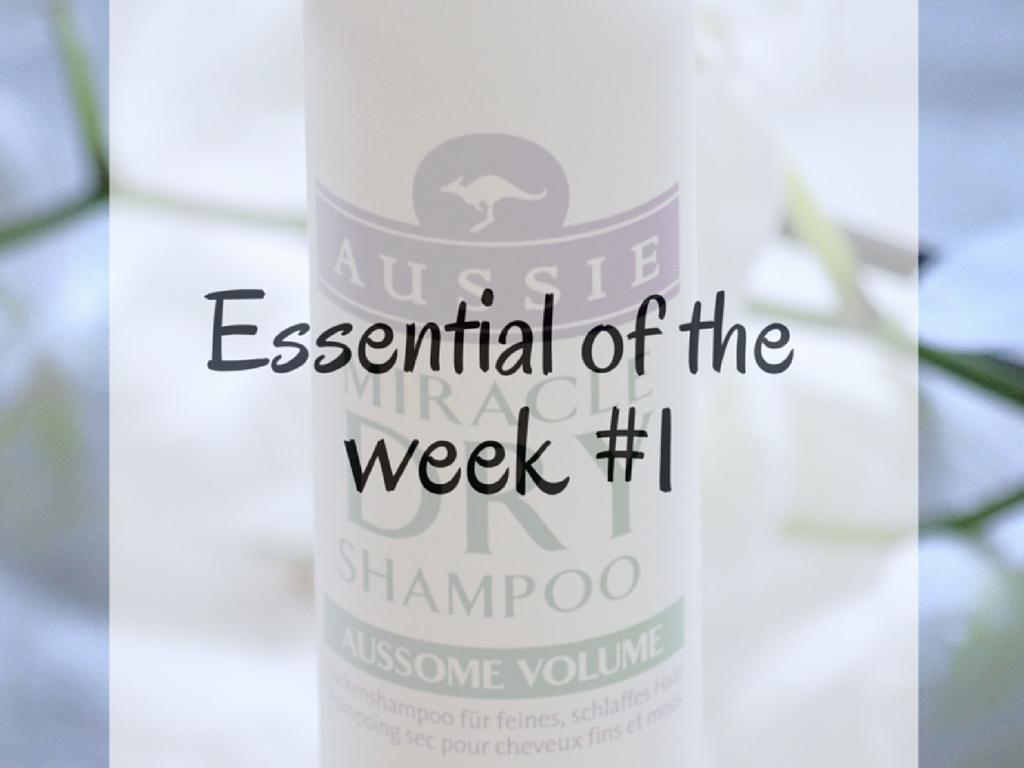 Essential of the week #1