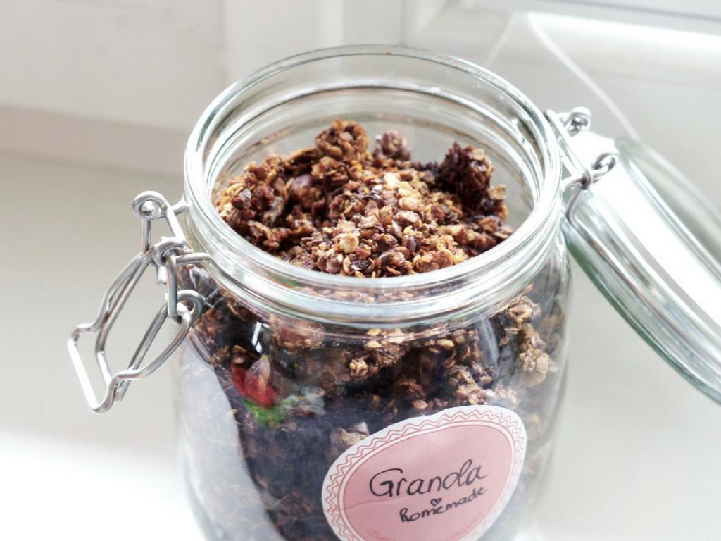 Homemade Crunchy Granola – schnell & einfach