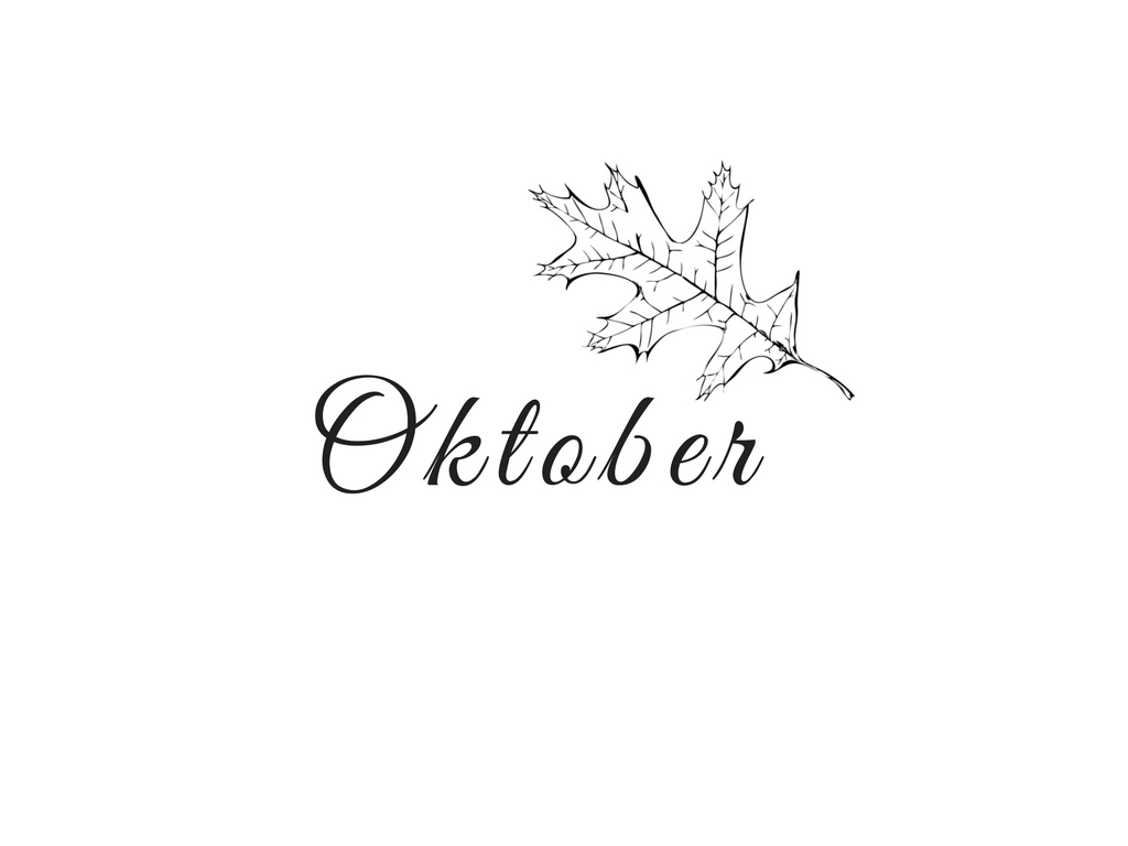 Monthly Review: Bye beautiful October