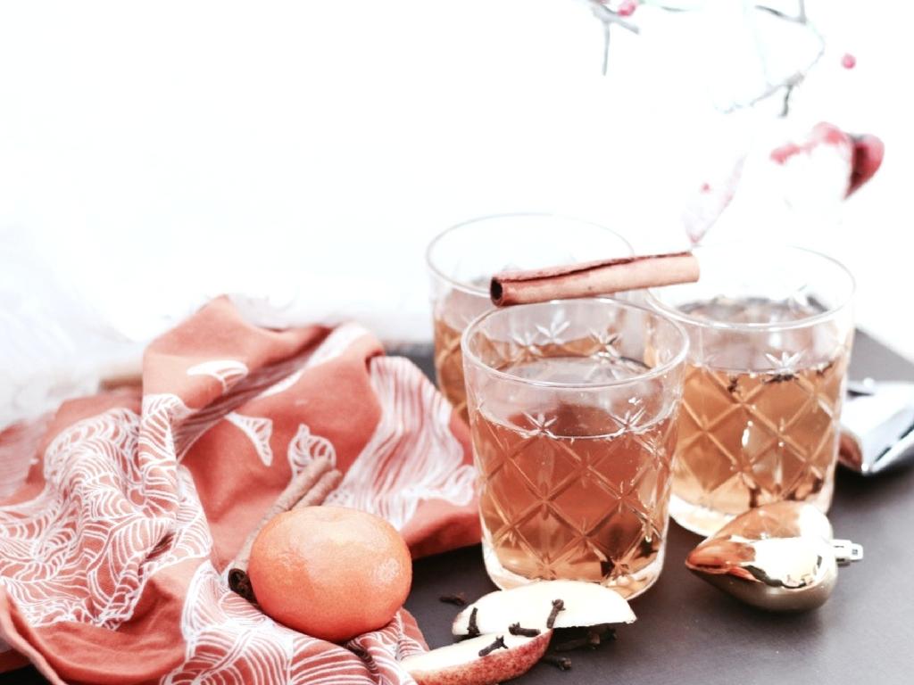 Homemade Apfel-Zimt Punsch