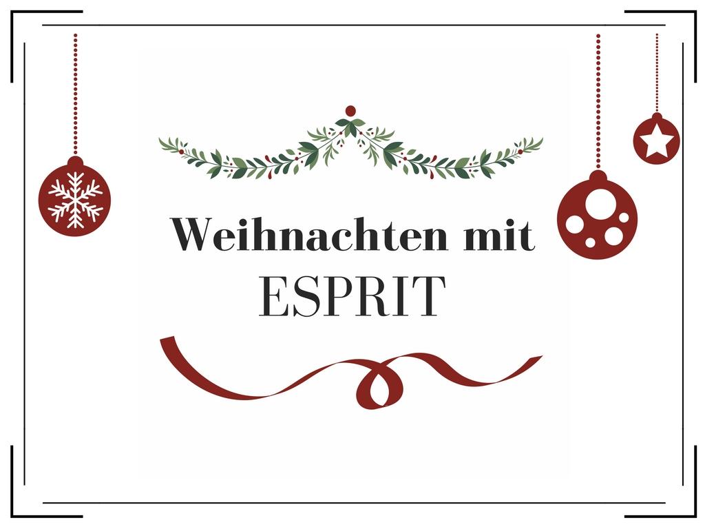 Weihnachten mit Esprit