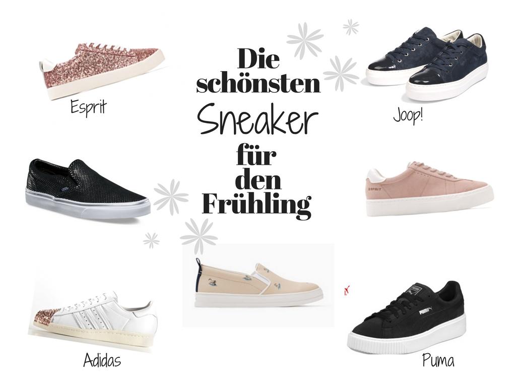 Die coolsten Sneaker für den Frühling