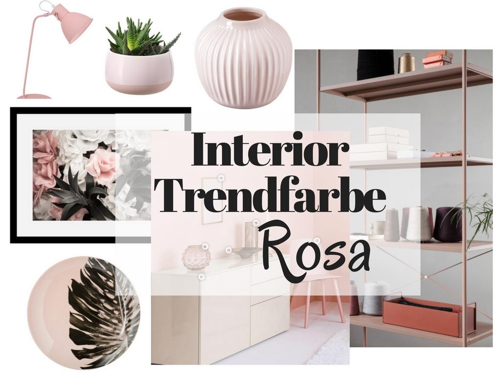 Interior Trendfarbe ROSA
