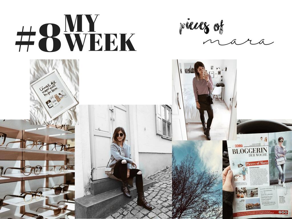 MY WEEK #8: Ich bin in der Zeitung!, Streifen-Liebe, Prüfung geschafft