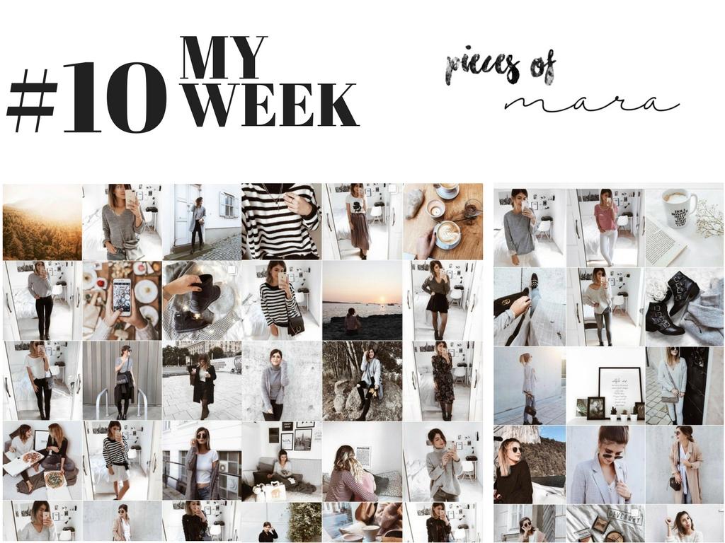 MY WEEK #10: So bearbeite ich meine INSTAGRAM Bilder