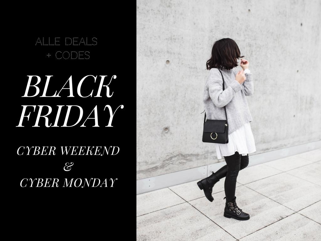 Black Friday & Cyber Weekend – Die besten Angebote + Codes!