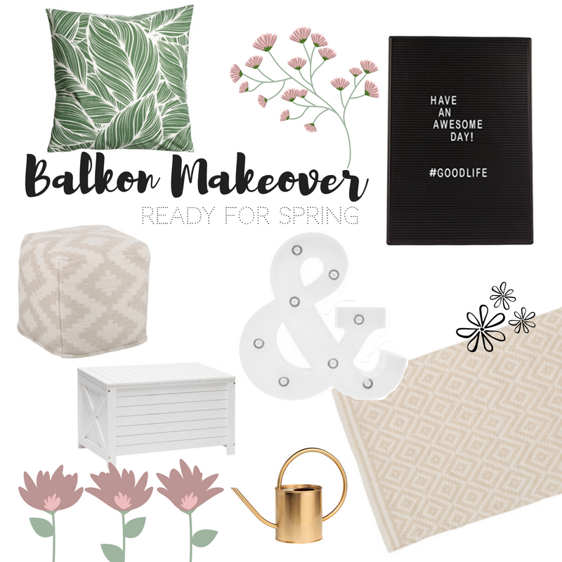 Balkon Makeover: Ready for Spring!